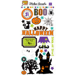 Echo Park - Ghost Town Collection - Halloween - Cardstock Stickers