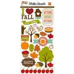 Echo Park - I Heart Fall Collection - Cardstock Stickers