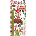 Echo Park - Jingle All The Way Collection - Christmas - Cardstock Stickers
