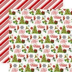 Echo Park - Jingle All The Way Collection - Christmas - 12 x 12 Double Sided Paper - Icons