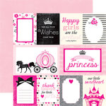 Echo Park - Princess Collection - 12 x 12 Double Sided Paper - Journaling