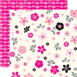 Echo Park - Princess Collection - 12 x 12 Double Sided Paper - Floral