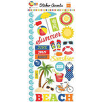 Echo Park - Beach Party Collection - Cardstock Stickers