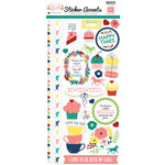 Echo Park - My Little Girl Collection - Cardstock Stickers