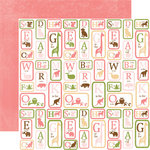 Echo Park - Bundle of Joy Collection - 12 x 12 Double Sided Paper - ABC