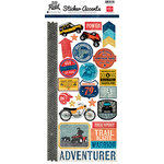 Echo Park - Off Road Collection - Cardstock Stickers - Accents