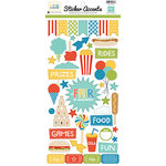 Echo Park - A Fair To Remember Collection - Cardstock Stickers - Accents