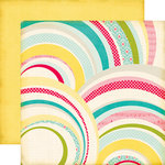 Echo Park - Sweet Girl Collection - 12 x 12 Double Sided Paper - Rainbows