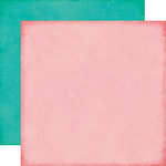 Echo Park - Sweet Girl Collection - 12 x 12 Double Sided Paper - Light Pink