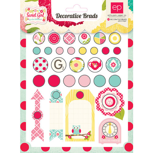 Echo Park - Sweet Girl Collection - Brad Assortment