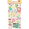 Echo Park - Sweet Girl Collection - Chipboard Stickers