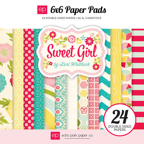 Echo Park - Sweet Girl Collection - 6 x 6 Paper Pad