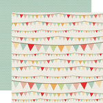 Echo Park - Sweet Day Collection - 12 x 12 Double Sided Paper - Playful Banner