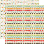 Echo Park - Sweet Day Collection - 12 x 12 Double Sided Paper - Lovely Chevron