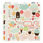Echo Park - Sweet Day Collection - 12 x 12 Cardstock Stickers - Elements