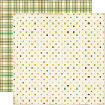 Echo Park - This and That Collection - Charming - 12 x 12 Double Sided Paper - Dots and Plaid