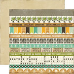Echo Park - This and That Collection - Charming - 12 x 12 Double Sided Paper - Border Strips