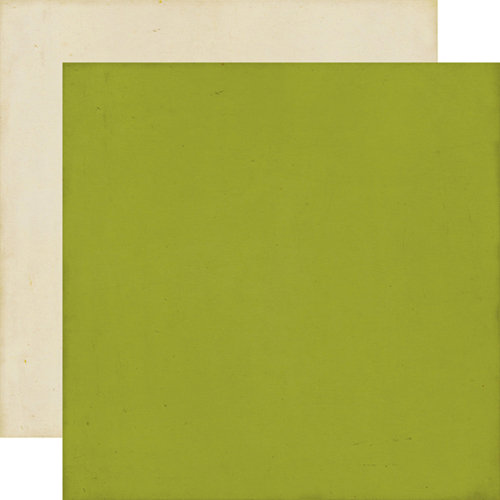 Echo Park - This and That Collection - Charming - 12 x 12 Double Sided Paper - Green