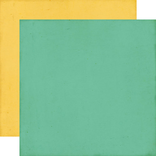 Echo Park - This and That Collection - Charming - 12 x 12 Double Sided Paper - Teal