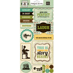 Echo Park - This and That Collection - Charming - Chipboard Stickers