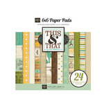 Echo Park - This and That Collection - Charming - 6 x 6 Paper Pad