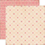 Echo Park - This and That Collection - Graceful - 12 x 12 Double Sided Paper - Lace