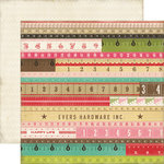 Echo Park - This and That Collection - Graceful - 12 x 12 Double Sided Paper - Yardsticks