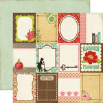Echo Park - This and That Collection - Graceful - 12 x 12 Double Sided Paper - Journaling Cards