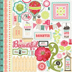 Echo Park - This and That Collection - Graceful - 12 x 12 Cardstock Stickers - Elements