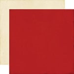 Echo Park - This and That Collection - Graceful - 12 x 12 Double Sided Paper - Red