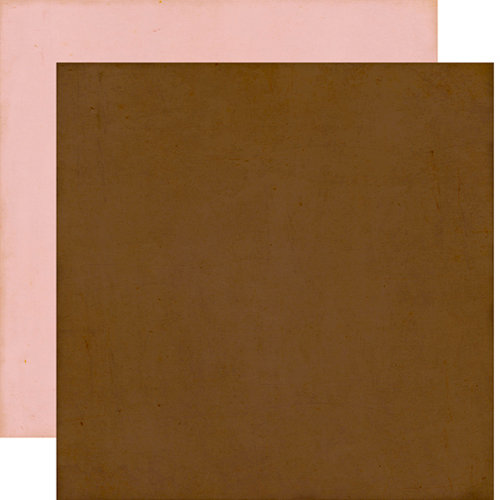 Echo Park - This and That Collection - Graceful - 12 x 12 Double Sided Paper - Brown