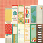 Echo Park - Teacher's Pet Collection - 12 x 12 Double Sided Paper - Book Marks