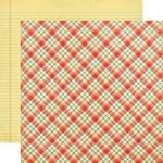 Echo Park - Teacher's Pet Collection - 12 x 12 Double Sided Paper - School Days Plaid