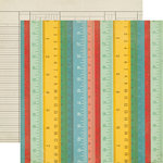 Echo Park - Teacher's Pet Collection - 12 x 12 Double Sided Paper - Rulers