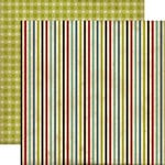 Echo Park - Times and Seasons Collection - 12 x 12 Double Sided Paper - Sweet Stripes