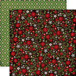 Echo Park - The Story of Our Christmas Collection - 12 x 12 Double Sided Paper - Flowers