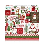 Echo Park - The Story of Christmas Collection - 12 x 12 Cardstock Stickers - Elements