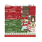 Echo Park - The Story of Our Christmas Collection - 12 x 12 Cardstock Stickers - Alphabet