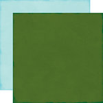 Echo Park - The Story of Our Christmas Collection - 12 x 12 Double Sided Paper - Dark Green