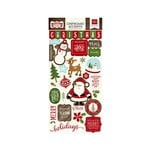 Echo Park - The Story of Christmas Collection - Chipboard Stickers