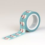 Echo Park - The Story of Christmas Collection - Decorative Tape - Snowman