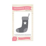 Echo Park - The Story of Our Christmas Collection - Designer Dies - Star Stocking