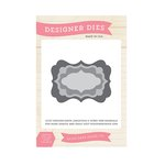 Echo Park - The Story of Our Christmas Collection - Designer Dies - Designer Label Set 5