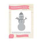 Echo Park - The Story of Our Christmas Collection - Designer Dies - Snowman Set