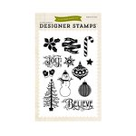 Echo Park - The Story of Christmas Collection - Clear Acrylic Stamps - Believe