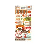 Echo Park - The Story of Fall Collection - Chipboard Stickers