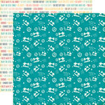 Echo Park - The Story of Our Family Collection - 12 x 12 Double Sided Paper - Sewing