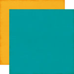 Echo Park - The Story of Our Family Collection - 12 x 12 Double Sided Paper - Teal