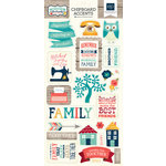 Echo Park - The Story of Our Family Collection - Chipboard Stickers