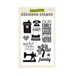 Echo Park - The Story of Our Family Collection - Clear Acrylic Stamps - Family Dreams